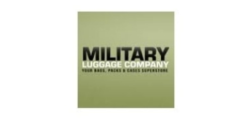 Military Luggage coupons