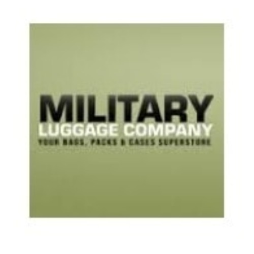 33aaef5165a6 $18 Off Military Luggage Promo Code (+8 Top Offers) Aug 19