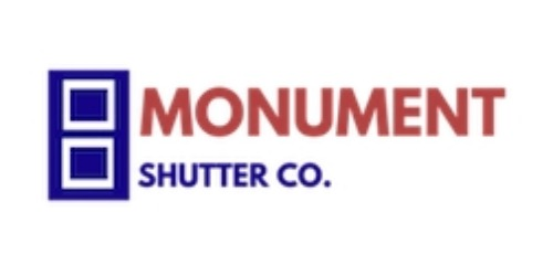 Monument Shutter Co. coupons