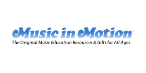 Music in Motion coupons