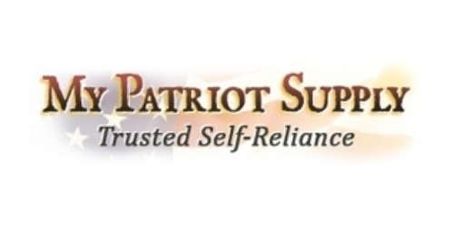 My Patriot Supply coupons