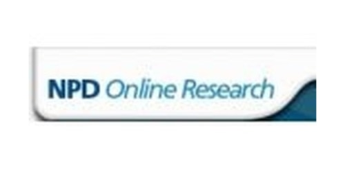 NPD Online Research coupons