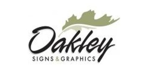 a852a5a628 Oakley Signs   Graphics Coupon Stats. 6 total offers. 2 promo codes. Last  updated March 17