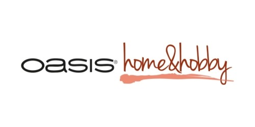 Oasis Home and Hobby coupons