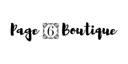 Page 6 Boutique coupon