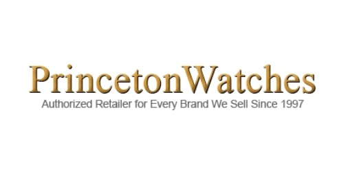 Princeton Watches coupon