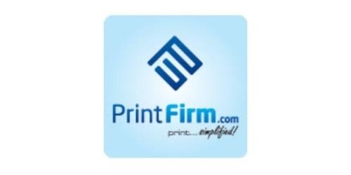 PrintFirm coupons