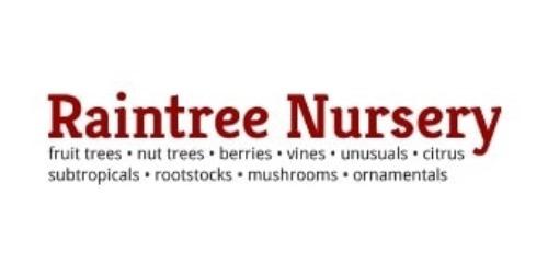 Raintree Nursery coupons