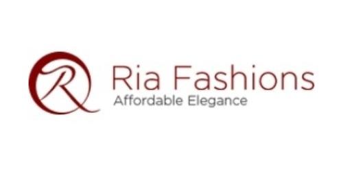 Ria Fashions Coupon