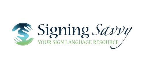 Signing Savvy coupons