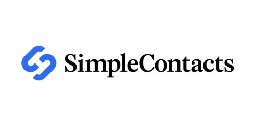 Simple Contacts coupon