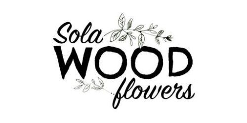 Sola Wood Flowers coupons