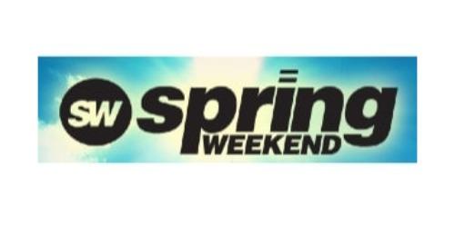Spring Weekend coupons
