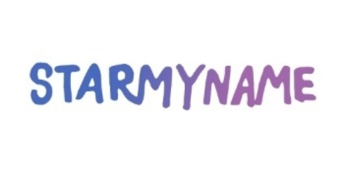 Starmyname coupons