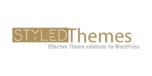 Styled Themes coupons