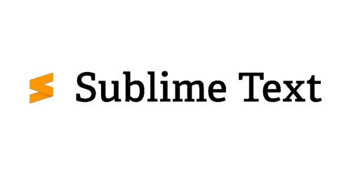 Sublime Text coupons