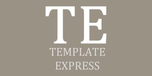 Template Express coupons