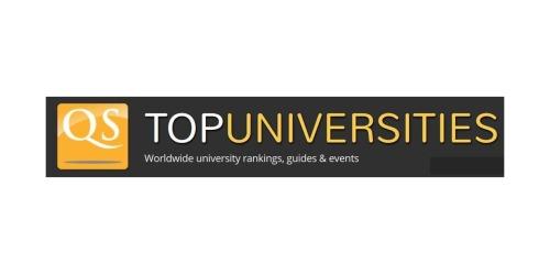 TopUniversities coupons