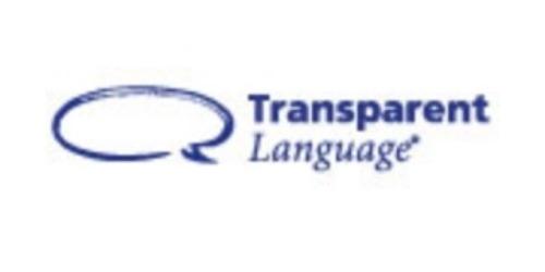 Transparent Language coupons
