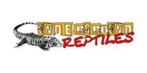 Underground Reptiles coupons