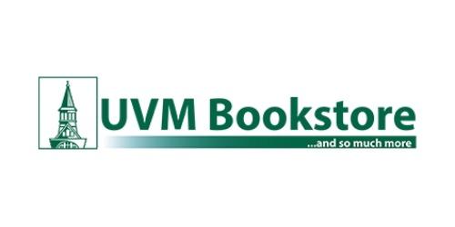 UVM Bookstore coupons