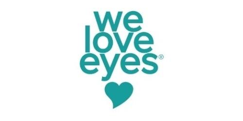 We Love Eyes coupons