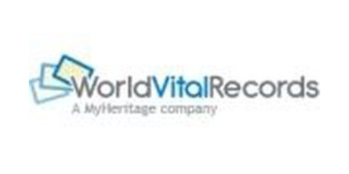 World Vital Records coupons