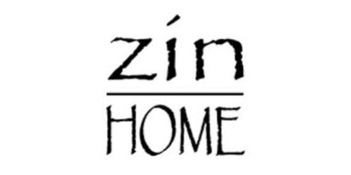 Zin Home coupon