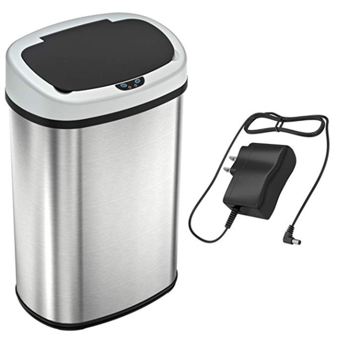 best automatic trash cans amazon