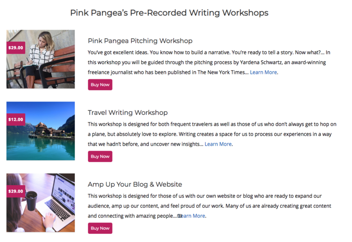 best online travel writing courses