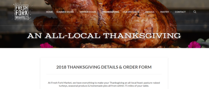 thanksgiving meal kit delivery services