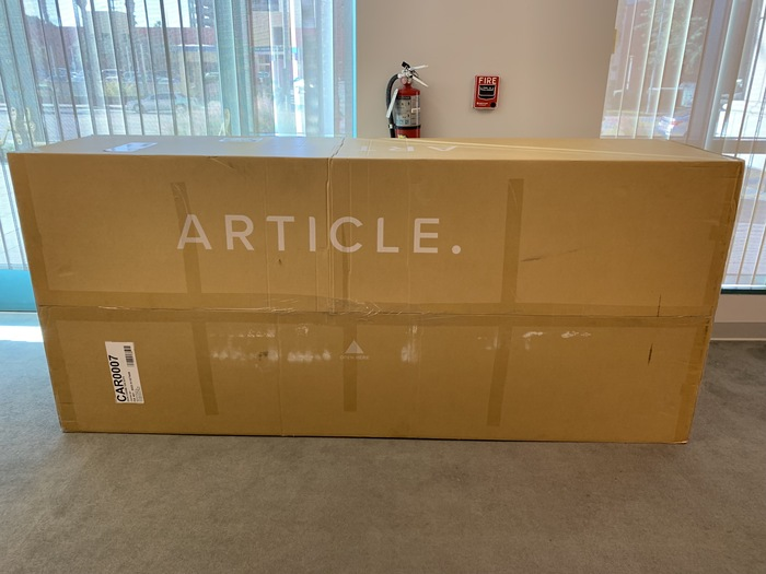article furniture review