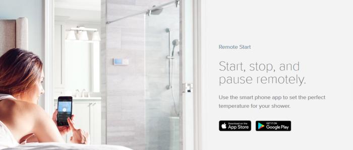 water saving smart shower heads