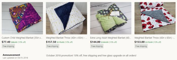 affordable gravity blanket alternatives