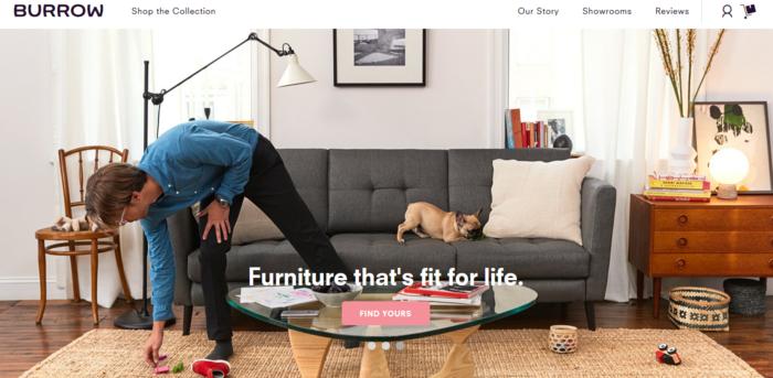 online furniture financing affirm afterpay