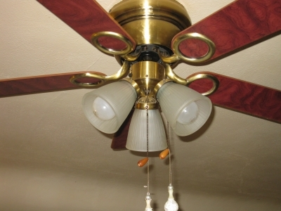 Ceiling fans how to clean a ceiling fan to cut back on dust aloadofball Choice Image