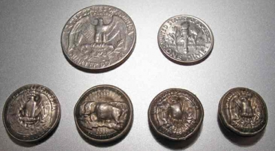 shrunken coins, image via hackerfriendly @ Flickr