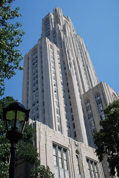 Cathedral Of Learning Beautiful Gothic Landmark