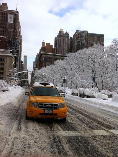 Below Zero Weather Days in New York City History