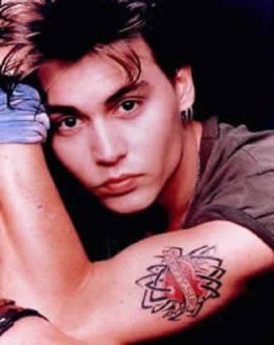 Name Johnny Tattoos Johnny Depp's Many Tattoos