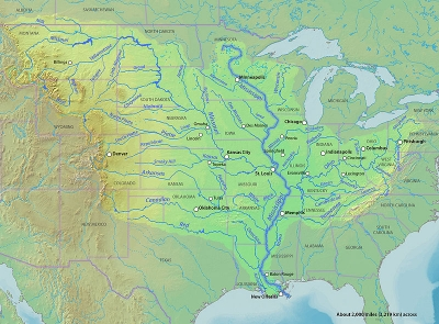 Longest Rivers In The United States - Usa rivers