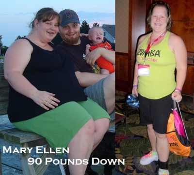 Before and After: Major Weight Loss with Zumba