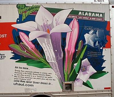 Alabama USA U-Haul Truck