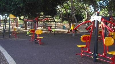 park raanana israel, gym