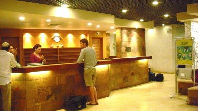Kibutz Shefayim Reception Desk At Kibbutz Hotel