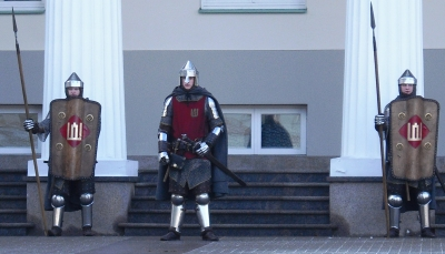 changing of the guard lithuania