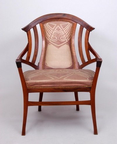 Art Nouveau Chair Styles Wonderful Chair Back Big little fancy