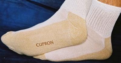 cupron socks