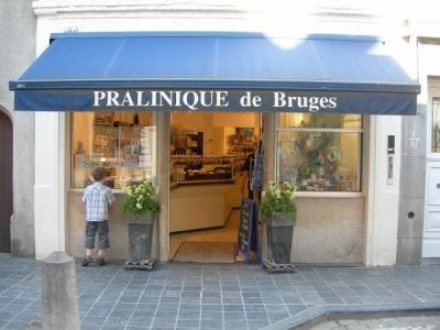 Chocolatier in Bruges
