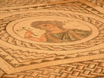Mosaics in Archeological site of Kourion